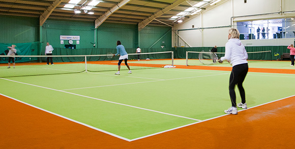 2 Indoor Courts