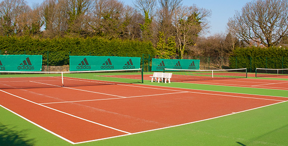 Free Unlimited Use Of Indoor & Outdoor Tennis Courts