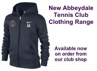 Abbeydale Tennis Club Clothing Range